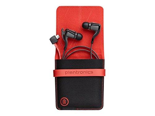 Plantronics Backbeat Go 2/R Headset, Black (88600-01)
