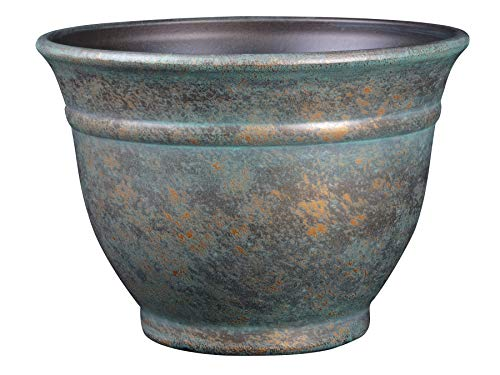 Classic Home and Garden 10509D-377R 9 Alena Planter, 9, Weathered Copper