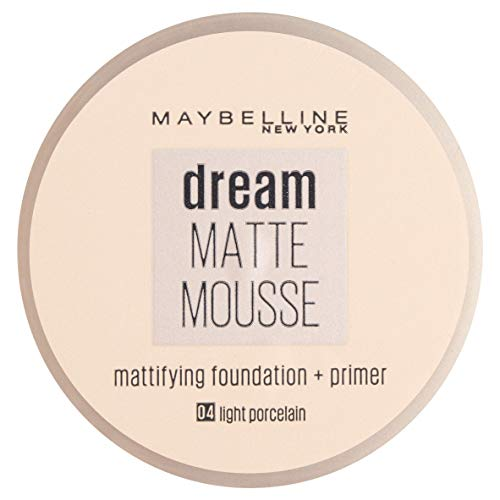 Maybelline Jade Dream Matte Mousse Make-up (004 Light Porcelain)