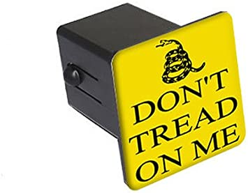 1.25 Graphics and More Gadsden Dont Tread On Me Tow Trailer Hitch Cover Plug Insert 1 1//4 inch