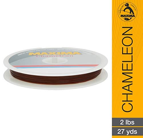 Maxima Fishing Line Leader Wheel Chamäleon, 0,9 kg/27 Yard