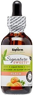 SIGFORM Peach Stevia, 0.02 Pound