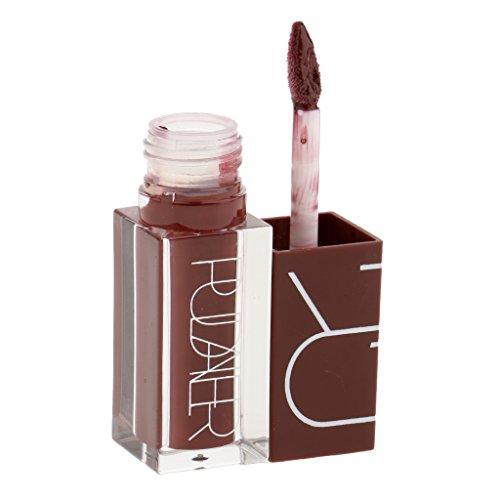 MagiDeal 5 Couleurs Rouge à Lèvres Liquide Velours Mat de Longue Durée - Lip Gloss Imperméable à L'eau Non Adhésif pour Lèvres Maquillage - 117#