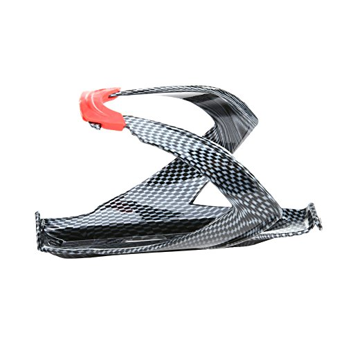 Amazingdeal365 Soporte para botella de agua de carretera de fibra de carbono para bicicleta