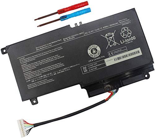PA5107U-1BRS Laptop Battery for Toshiba Satellite P50 P55-a P55-a5312 P55-a5200 P55t-a5202 P55t-a5116 S55-a5279 S55-A5295 L55-a5284 L55-a5299 L55-a5226 P50 P50-A P50-b L45 L50 L55d L55t L50 P000573230