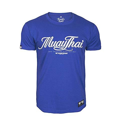 Pulgares Down Muay Tailandés Camiseta Tailandia Patada Boxeo MMA. Gimnasio Entrenamiento....