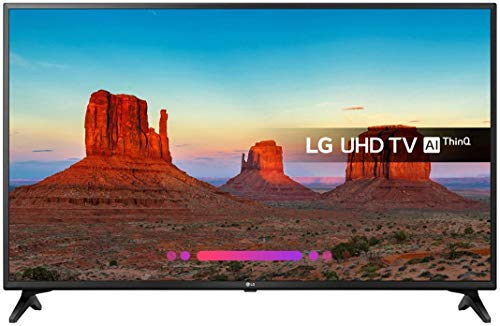 LG 43UK6200PLA LED TV 109,2 cm (43') 4K Ultra HD Smart TV WiFi Negro