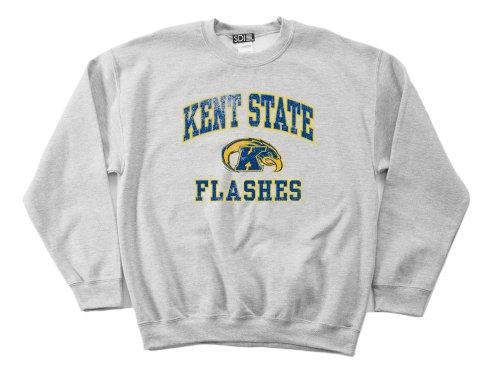 NCAA Kent State Golden Flashes 50/50 Blended 236 ml Vintage Maskottchen Rundhals-Sweatshirt, Herren, Grau - Sport Grey, Medium