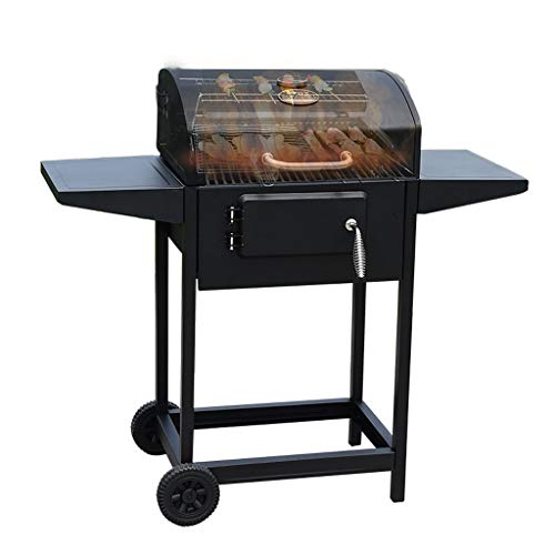 KGDC Charcoal Grill Large Outdoor Barbecue Home Charcoal Grill Field Barbecue BBQ Charcoal Oven