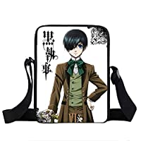 Japanese Anime Black Butler Mini Messenger Bag Women Handbags Teenage Ciel/Sebastian Boys Girls Bag Cartoon girl Shoulder Bags