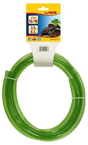 sera 45057 Schlauch fürs Aquarium 12/16, 2.5 m, grün