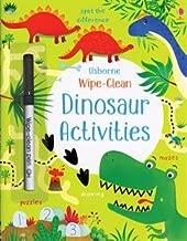 wipe clean dinosaur activities usborne