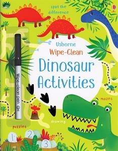 Usborne Books Dinosaur Activities Wipe-Clean
