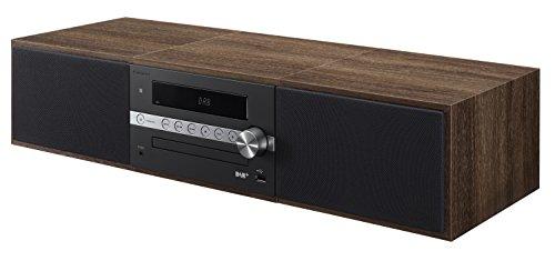 Pioneer X-CM56D HiFi-Micro-System (CD-Player, Lautsprecher, DAB+, UKW Radio, Bluetooth, USB, MP3, 2 x 15 Watt) Kompaktanlage für Küche, Wohnzimmer, Schlafzimmer und Büro, Schwarz