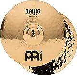 "Meinl 15"" Medium Hihat (Hi Hat) Cymbal Pair - Classics Custom Brilliant - Made in Germany, 2-YEAR WARRANTY (CC15MH-B)"