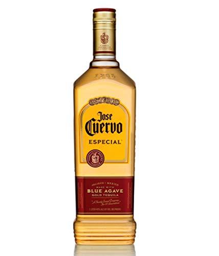 Jose Cuervo Especial Reposado Original Tequila Mexiko (1 x 1,0 l) – mexikanischer Tequila mit 38 % Vol. Alkohol
