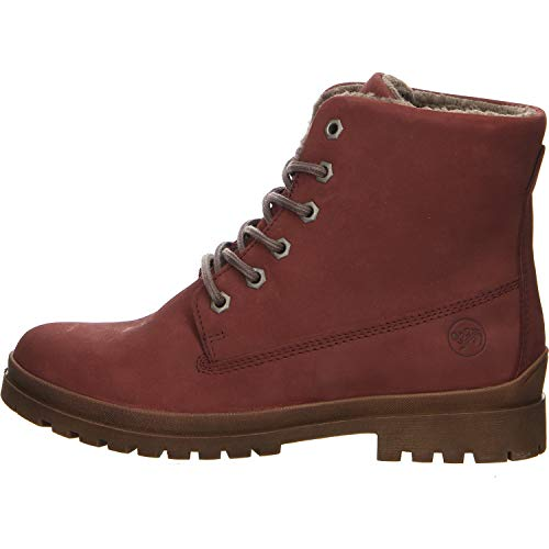 Salamander Damen Boots Größe 38 EU Rot (rot)