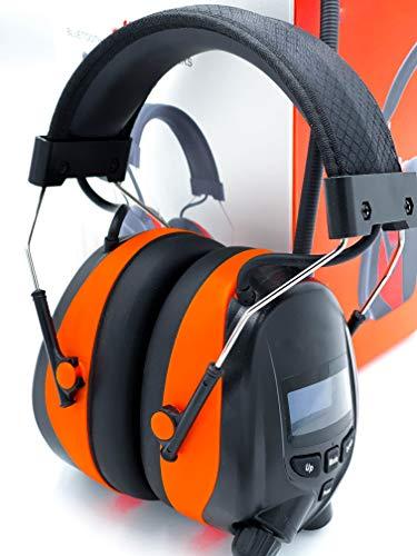 Gehörschützer DAB+ Bluetooth - Gehörschützer mit Radio - Radiogehörschützer