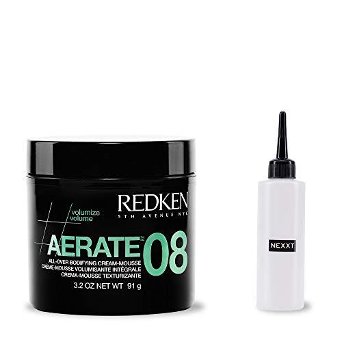 Redken Aerate 08, 91 g, leichte Styling-Creme, Volumen gebende Haar-Creme für feines Haar, inkl. Applikator-Flasche, 2er Set