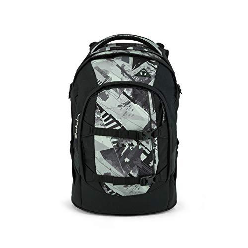 satch Pack Frame Game, ergonomischer Schulrucksack, 30 Liter, Organisationstalent, Schwarz/Beige/Grau