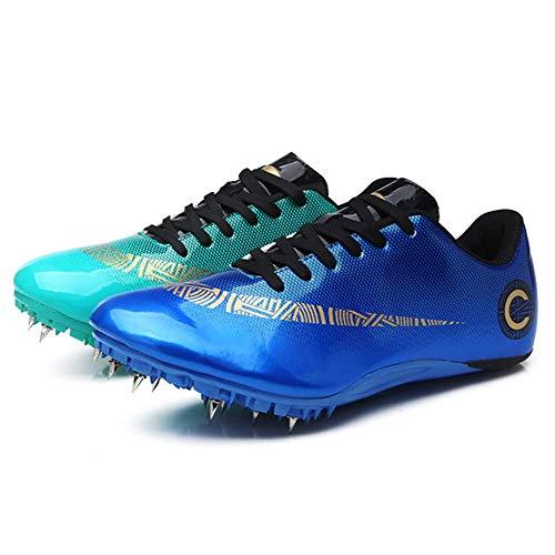Spikes Zapatos Atletismo Zapatos Hombre De Atletismo Ligero Seguro De Usar Clavos Zapatillas De...