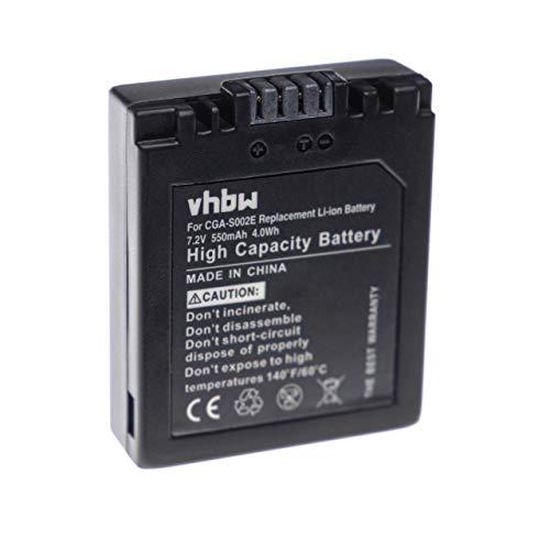 Batterie LI-ION Compatible pour PANASONIC remplace DMW-BM7 / CGA-S001HH / CGR-S002
