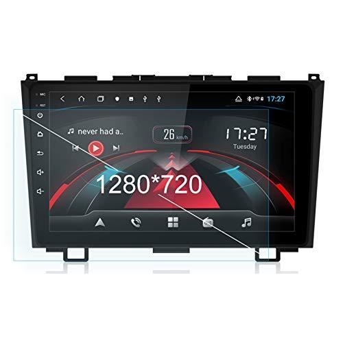 TypeBuilt para Honda/CRV/CR-V 2006-2011 Autorradio Autoestereo Pantalla Táctil Capacitiva GPS Navegación Control del Volante Unidad Principal Radio Video Player WiFi Bluetooth SWC,8cores,4G+64G