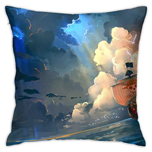 ETGeed Funda de Almohada para sofá Coche Thousand-sunny-one-piece-b25153-png-transparent-background