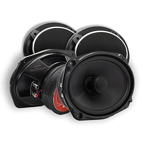 "CT Sounds 6x9 Inch Coaxial Car Speakers - 2 Way Full Range, 1.5"" Voice Coil"