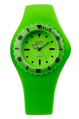 eton 2817-L – Reloj de Mujer de Cuarzo, Correa de Goma Color Verde