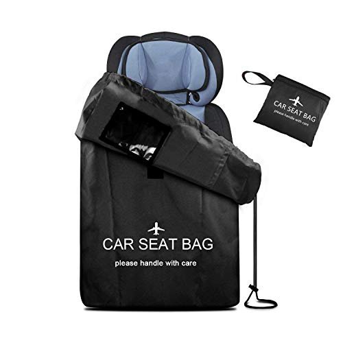 UMJWYJ Car Seat Bag Gate Check Travel Bag with Backpack Shoulder Straps for Strollers, Car Seats