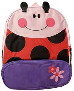 Cartoon Animal School Bag Backpack for Nursery Kindergarten Kids Children Toddler (Ladybug)
