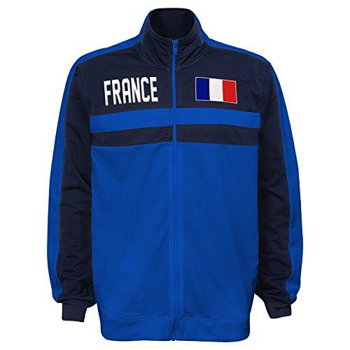 International Soccer France Men's Outerstuff Track Jacket, Team color , Large