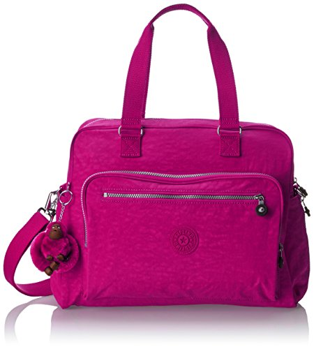 Kipling womens Alanna Solid Diaper Bag, Very Berry, One Size US