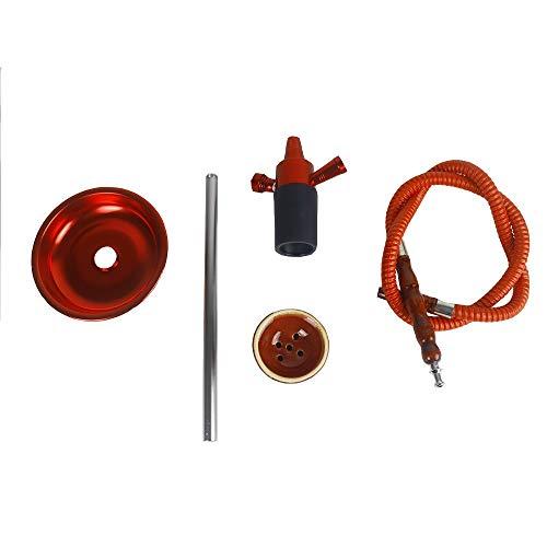 gao-bo Cachimba, Hookah Head Set, Utilizado for la Pipa de Agua Accesorios en la Tapa de la Botella (Color : D)