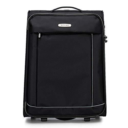 WITTCHEN Koffer – Großer | Textil, Material: Polyester | hochwertiger und Stabiler | Schwarz | 91 L | 76x47x31 cm