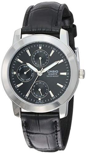 Casio Enticer Analog Black Dial Men's Watch - MTP-1192E-1ADF...