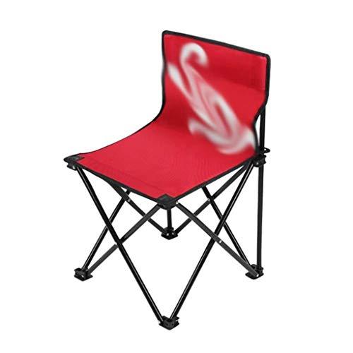 NYDZDM voetenbankje, opstapje, werkkruk, outdoor, klapstoel, strandstoel, draagbare campingkruk, visstoel, Mazar Art