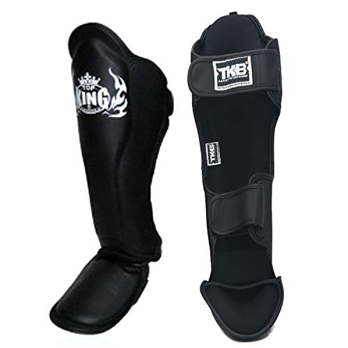 top king Shin Guards Muay Thai MMA