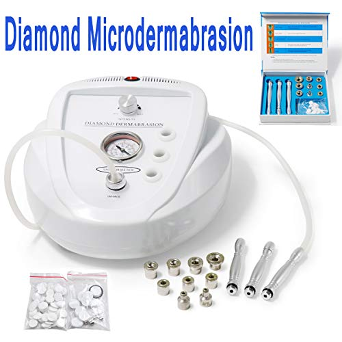 Facial Microdermabrasion Machine Professional Diamond Dermabrasion Device Skin Peeling Extractor For Wrinkle Remove Anti Aging Multifunctional Home Use Beauty Salon Equipment