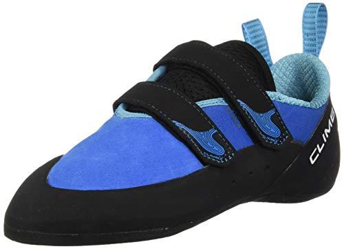 Climb X Rave Strap Climbing Shoe 2018 (9, Blue)