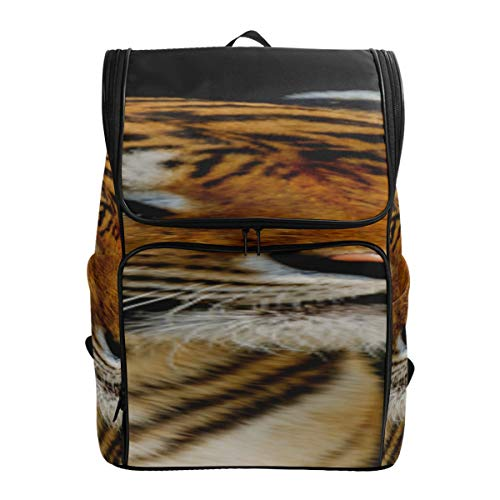 Powerful And Domineering Tiger Toddler Sports Bag College Gift Bags Cool Daypacks Backpack For Women Fits 15.6 Inch Laptop And Notebook Travel Bag Kids Best Daypack