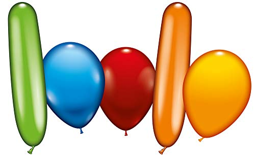 Karaloon G00199 150 Balloons Big Party Pack, Multi Colour