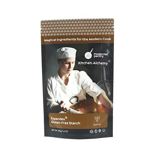 Improved Expandex GF Tapioca Starch - 400g/14oz ⊘ Non-GMO ❤ Gluten-Free ☮ Vegan ✡ OU Kosher Certified (Perfect for Gluten-Free Baking)