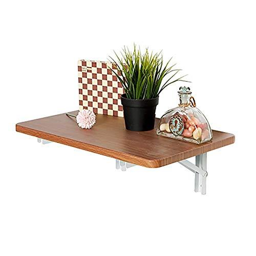 - Inklapbare klaptafel voor wandmontage, kleine klaptafel van hout, eettafel en bureau, draagkracht 150 lb (afmetingen: 30 x 21 cm). 80x41cm
