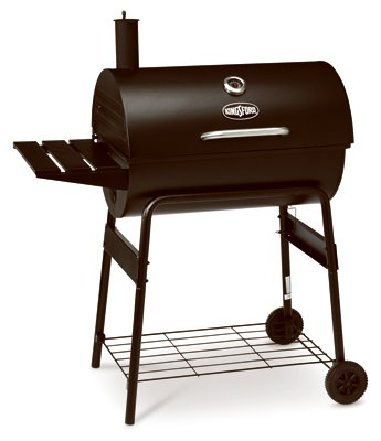 Rankam Group CG2001302-KF Natural Organic Charcoal Barrel Grill, 30""