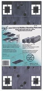 Solar Group PLMB0060 Gray Universal Mailbox Mounting Board