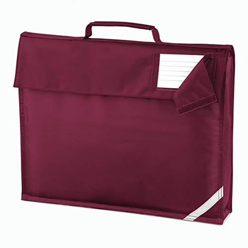Book Bag School Reading Quadra Classic Briefcase Strap Enhanced Viz Boys Girls