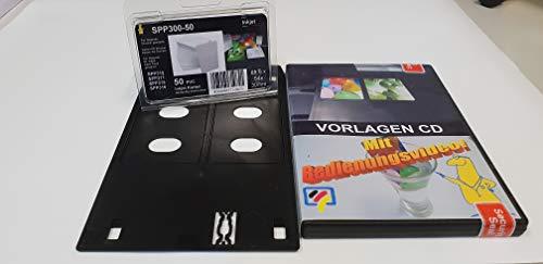 Dr. Inkjet PVC Kartendrucker - das kleine Starterpaket - Machen Sie Ihren Drucker IP7250 zu einem PVC Kartendrucker für Mitarbeiterausweise im Scheckkartenformat