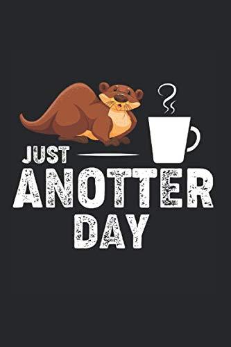 Notizbuch Der Otter mit Kaffee: Kaffee I Tagebuch I gepunktet I 100 Seiten